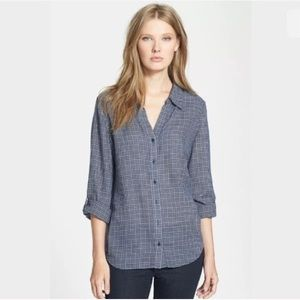 Joie Erven Plaid Shirt